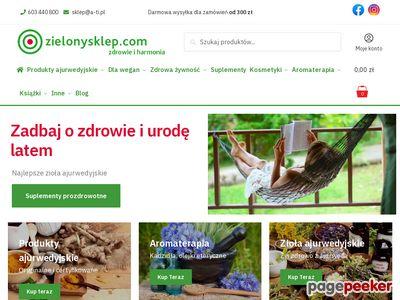 Zielony sklep, sklep ekologiczny Kraków, zdrowa żywność
