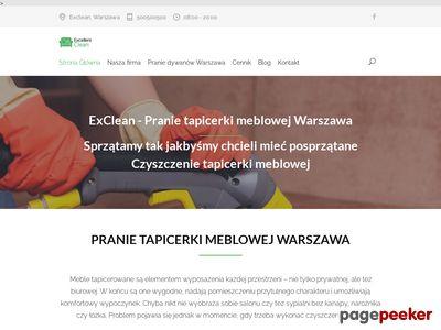 Firma sprzątająca eXclean Warszawa.