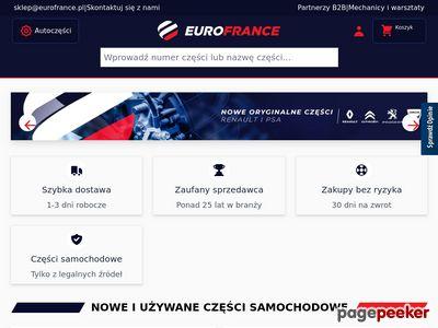 EuroFrance.pl - części do renault