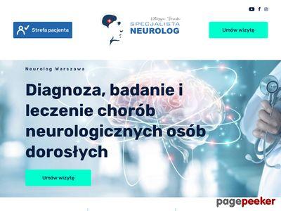 Neurolog z Badaniem EMG w Warszawie