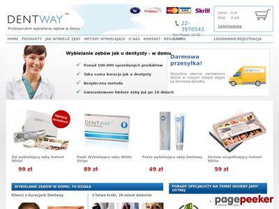 Dentway - Pasta wybielająca