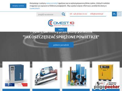Dmuchawy, sprężarki, sieci pneumatyczne - COMEST