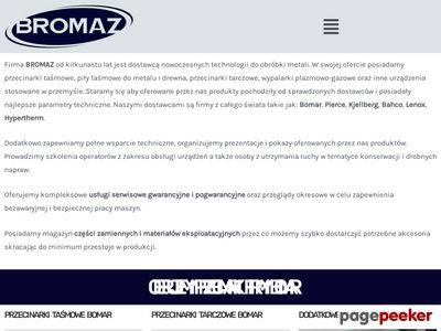BROMAZ- sprzedaż i serwis maszyn do obróbki metali