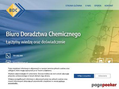 Biuro Doradztwa Chemicznego Grzegorz Żmijowski