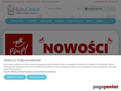 BABY CENTER markowa odzież dziecięca
