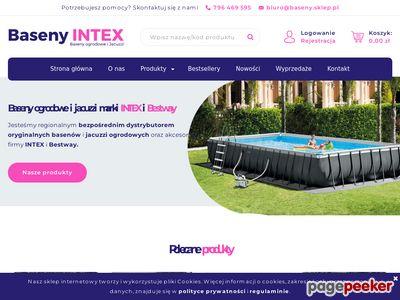 Intex Baseny