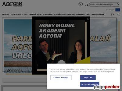 Aquaform - producent systemów oświetleniowych