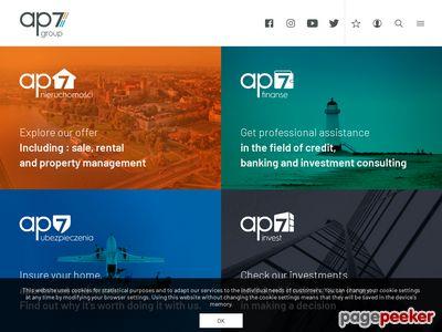 Biuro nieruchomości - www.ap7.pl