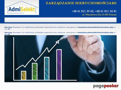 Zarządzanie nieruchomościami Poznań