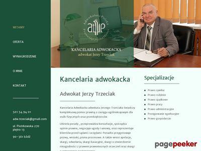 Adwokat Łódź - Jerzy Trzeciak