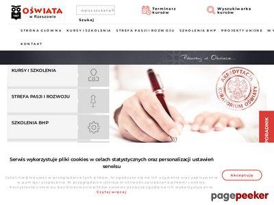 S.P. Oświata - Szkoła Policealna Rzeszów