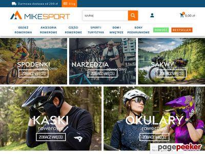 Spodnie rowerowe MikeSport