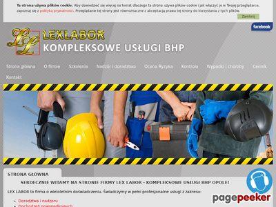 Szkolenie okresowe bhp Opole - LexLabor.pl