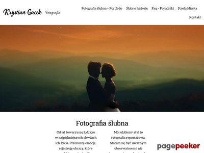 Krystian Gacek Fotografia Ślubna