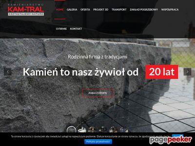 Kam-Tral - producent elementów granitowych