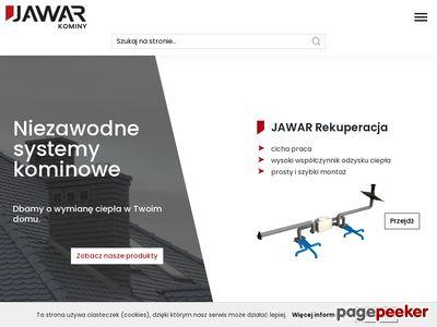 JAWAR - Systemy kominowe | kominy, komin