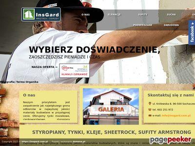 Tynki mozaikowe - http://www.insgard.com.pl/