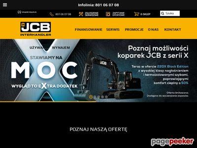 Sprzedaż części do maszyn budowlanych JCB