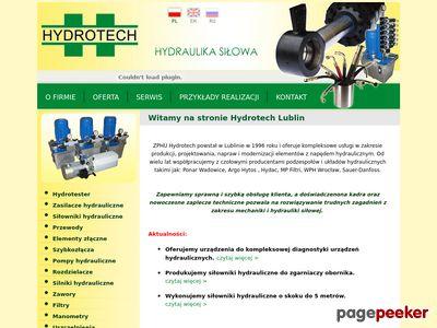 Hydrotech J.Gutowski - hydraulika siłowa