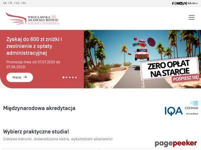 Studia magisterskie Wrocław