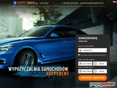 Wynajem samochodów Trójmiasto - Happy rent