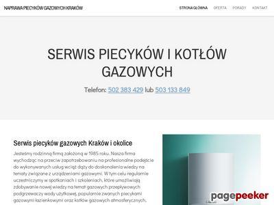 Naprawa piecyków i kotłów gazowych Kraków