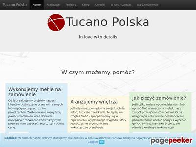 Tucano Polska - aranżacja wnętrz Kraków