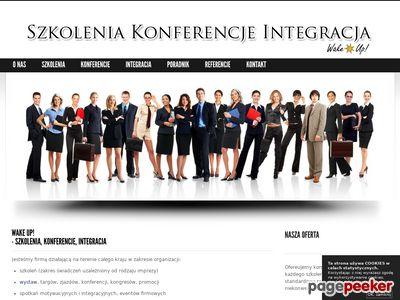 Organizacja szkoleń, konferencji i integracji