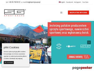 Słupki do tenisa - Sport Grupa