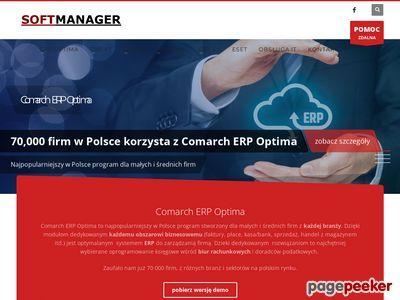 SoftManager: serwis informatyczny