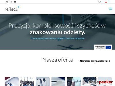 Reflect Poznań - Odzież reklamowa, sitodruk