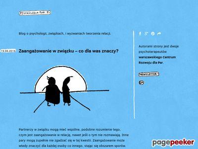 Strona o psychologii związków