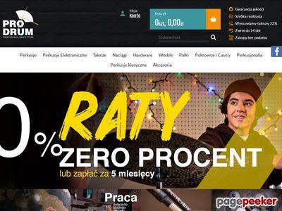 ProDrum.pl - Sklep Perkusyjny