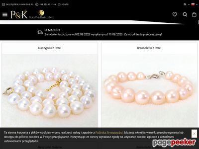 Perły i Kamienie - sklep z perłami i biżuterią
