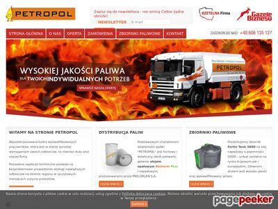 Petropol - Hurtownia paliw
