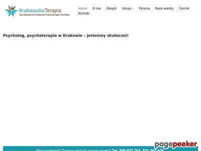 Psycholog Psychoterapeuta Kraków