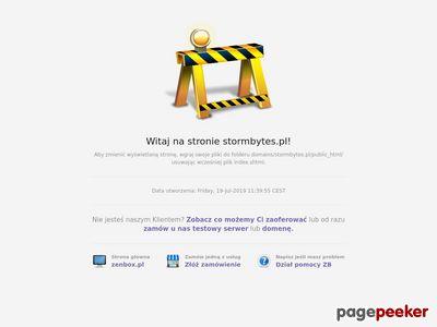 Stormbytes - zostaw swój ślad w sieci...