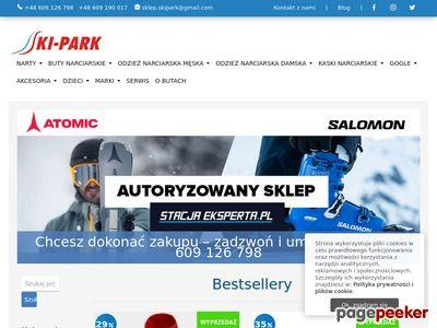 SKI-PARK,sklep narciarski oferuje narty, buty narciarskie