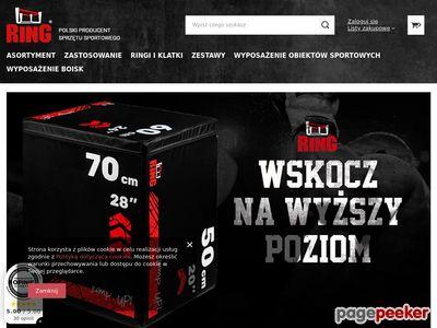 Materac gimnastyczny-Ring-sport.pl
