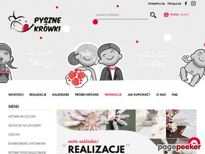 Krówki reklamowe - pyszne-krowki.pl
