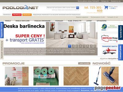 Sklep z panelami podłogowymi - podlogi24.net