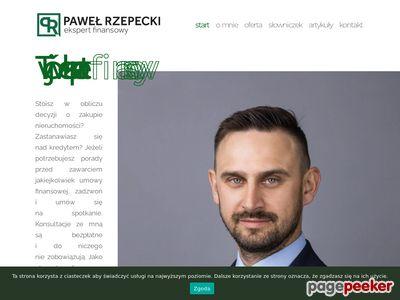 Paweł Rzepecki - ekspert finansowy