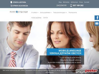 Kursy angielskiego Warszawa