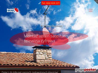 Montaż anten