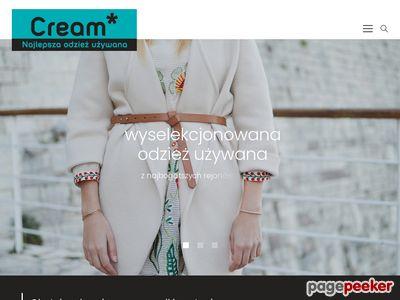 Odzież używana - MKCream