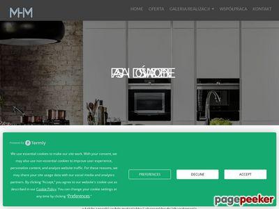 Studio mebli kuchennych Gdańsk MHM