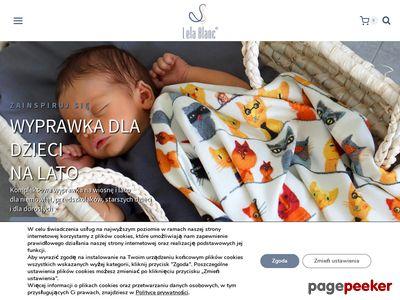 Lela Blanc - oryginalne akcesoria dla dzieci