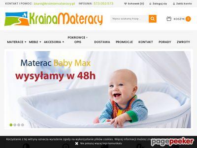 Sklep z materacami - KrainaMateracy.pl