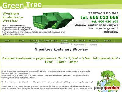 Kontener na odpady Wrocław