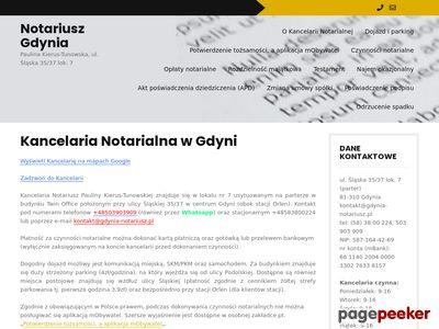 Notariusz Gdynia, Paulina Kierus-Tunowska